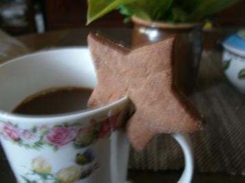 Schokocappuccino- Tassenplätzchen - Rezept