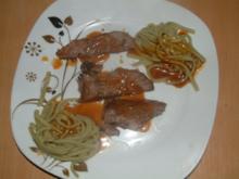 Rinderbraten in sahniger Chilisauce - Rezept