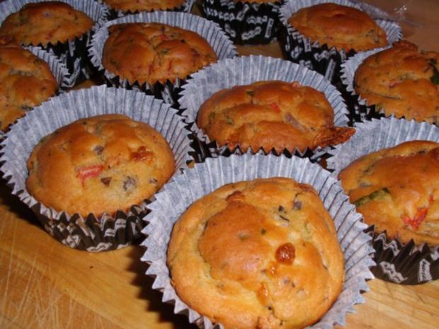 Muffins: Tomate-Mozzarella - Rezept - Bild Nr. 6