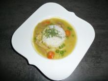 Curryhuhn auf Reis - Rezept