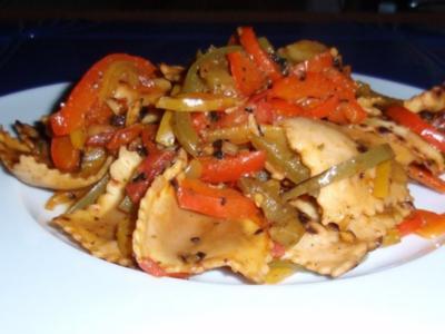 Ravioli-Gemüse-Pfännchen - Rezept
