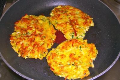 Kartoffel-Zucchini-Rösti - Rezept