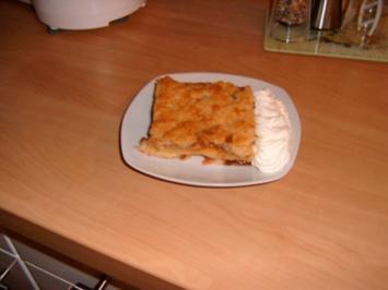Versunkener Zwetschgenkuchen - Rezept