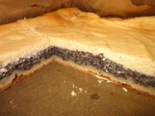 Mohn-Quark-Kuchen vom Blech - Rezept