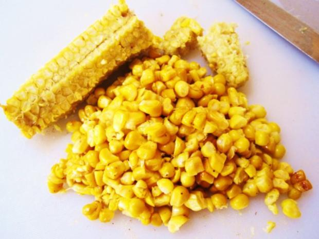 Buletten mit Mais ... - Rezept - Bild Nr. 4