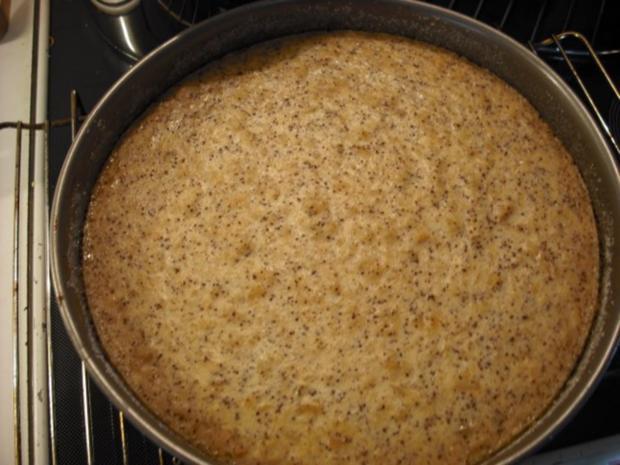 Apfel-Schmand-Kuchen mit Blätterteigdach - Rezept - Bild Nr. 12