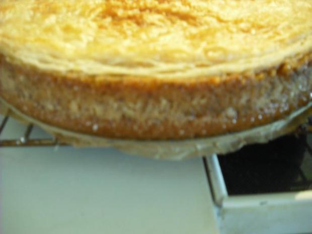 Apfel-Schmand-Kuchen mit Blätterteigdach - Rezept - Bild Nr. 16