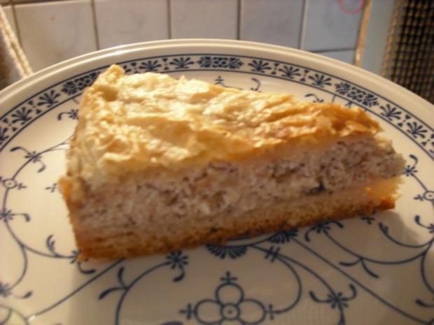 Apfel-Schmand-Kuchen mit Blätterteigdach - Rezept - Bild Nr. 17