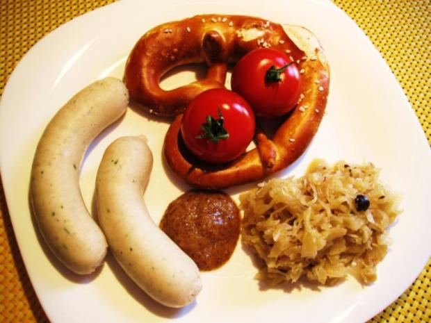 """""""Weißwurst mit Brezn"""" zu Mittag ... - Rezept - Bild Nr. 2"""