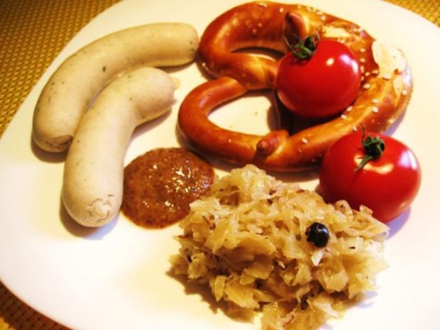 """""""Weißwurst mit Brezn"""" zu Mittag ... - Rezept - Bild Nr. 3"""