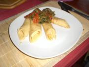 Kebap-Wok mit Pfannkuchen - Rezept