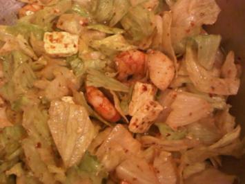 Fruchtig-pikanter Salat - Rezept