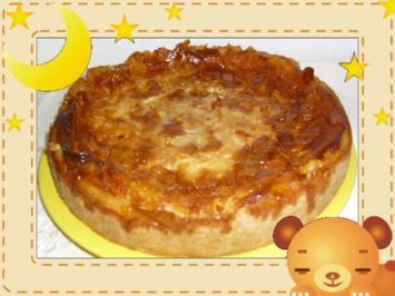 Bienenstich-Käsekuchen - Rezept