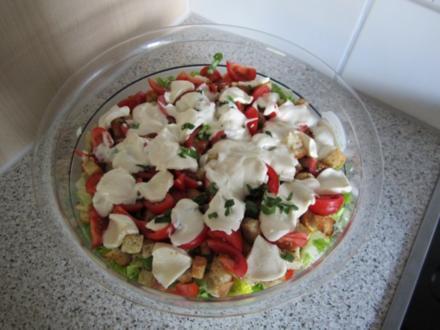 Roma-Schichtsalat - Rezept