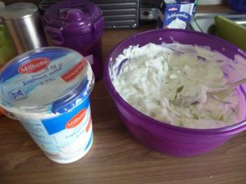 Dip´s und Saucen : Gurken-Quark-Joghurt-Dip - Rezept