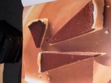 Mandelmürbteig- Schokoladentorte - Rezept