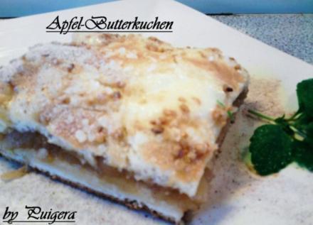 Bianca´s Butter -Apfelkuchen - Rezept