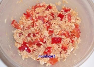 Salat: Thunfisch + Paprika, einfach - Rezept