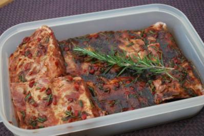 Rezept: Annis marinierte Spareribs vom Grill