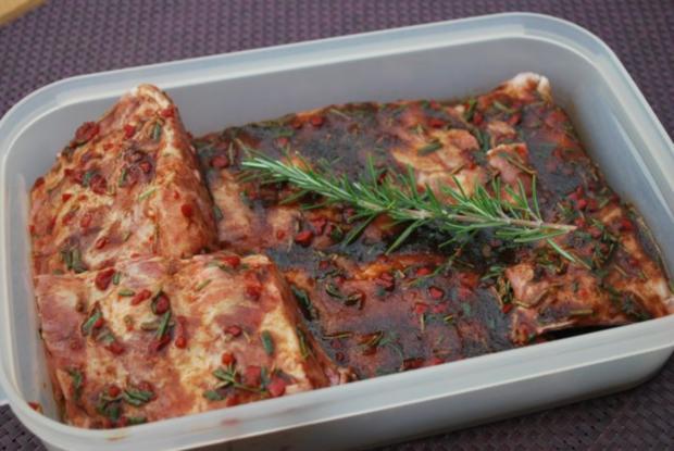 Annis marinierte Spareribs vom Grill - Rezept
