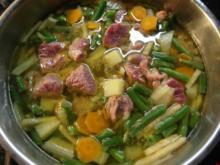Gemüse-Rindfleisch-Eintopf - Rezept