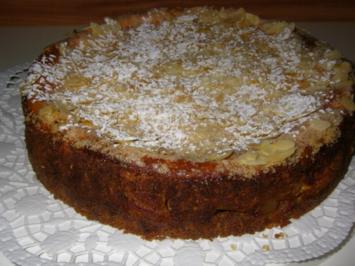 Apfel-Topfen-Torte - Rezept