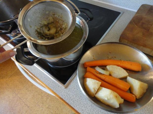 kräftige Hühner Suppe - Rezept - Bild Nr. 7