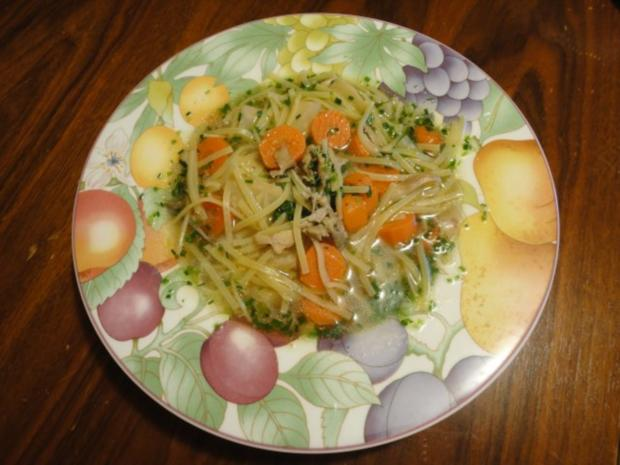 kräftige Hühner Suppe - Rezept - Bild Nr. 8