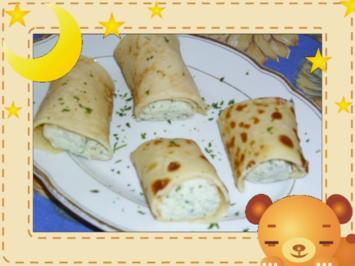 Gefüllte Pfannkuchen mit Ricotta - Rezept