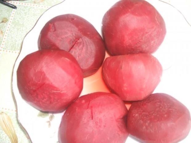 Rote Beete  süß sauer eingelegt - Rezept - Bild Nr. 3