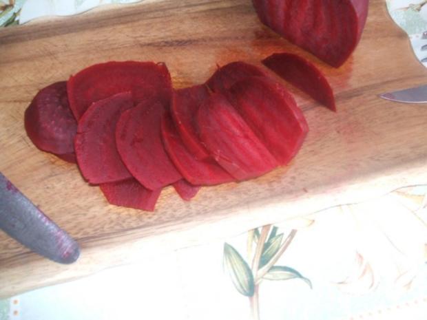 Rote Beete  süß sauer eingelegt - Rezept - Bild Nr. 4