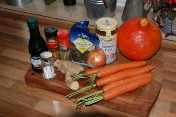 Hokkaido-Kürbis Suppe - Rezept