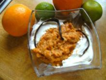 Nussig- Süßes- Kürbis-Dessert - Rezept