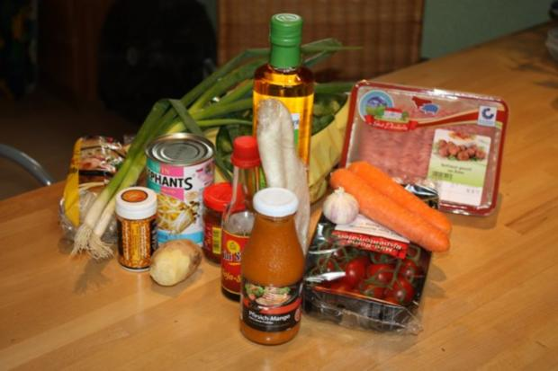Frühlingsrolle mit Salat - Rezept - Bild Nr. 2