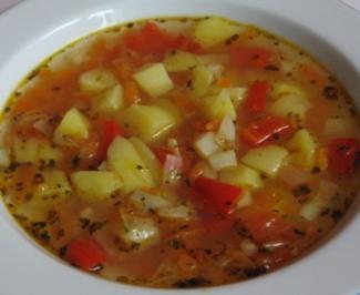 Kartoffelsuppe Toskana - Rezept