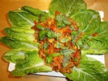 Chorizo Chili-Topf mit Kichererbsen - Rezept