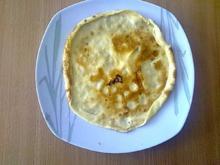 Desserts: Crêpes mit Nuss-Nugat-Creme und Pflaumenmus - Rezept