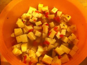 Rezept: eingelegter Käse