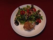 Rucola-Salat mit Wachtelkeule (Thomas Born) - Rezept