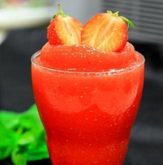 Italienisches Erdbeersorbet - Rezept
