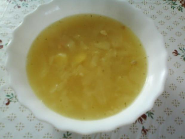 Kohlsuppe - Rezept