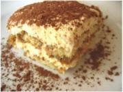Tiramisu mit Ricotta - Rezept