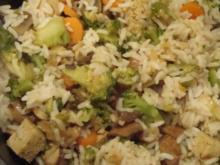 Gemüse-Tofu-Reis - Rezept