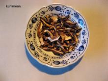 Waldpilze trocknen - Rezept