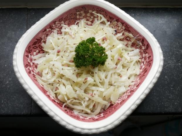 Bayrischer -Krautsalat - Rezept