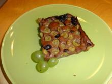 Schoko-Traubenkuchen vom Blech - Rezept