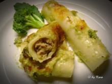 Pasta: Broccoloni al Forno - Rezept