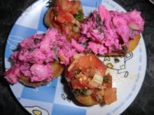 Salat mit geräucherter Forelle - Rezept