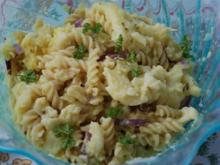 Nudel-Blumenkohlsalat - Rezept