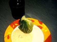 Wirsingsäckchen in Biersauce - Rezept